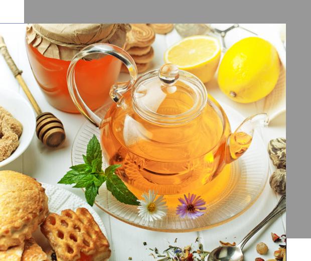 Chá - Harmonização com comidas