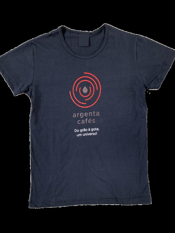 Camiseta Preta Argenta Masculina